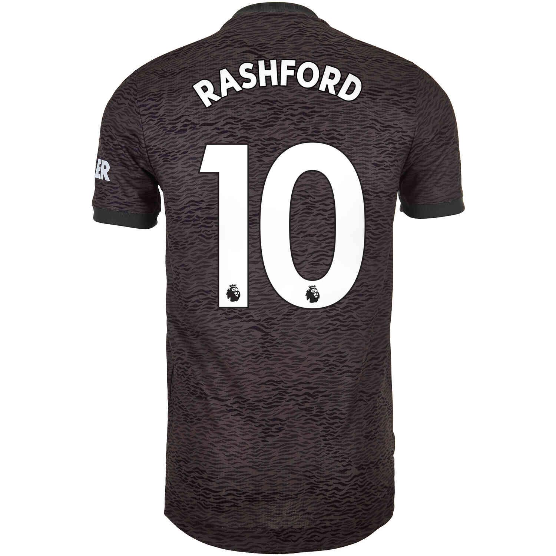 2020/21 adidas Marcus Rashford Manchester United Away ...