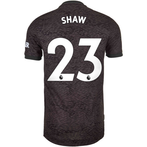 2020/21 adidas Luke Shaw Manchester United Away Authentic Jersey
