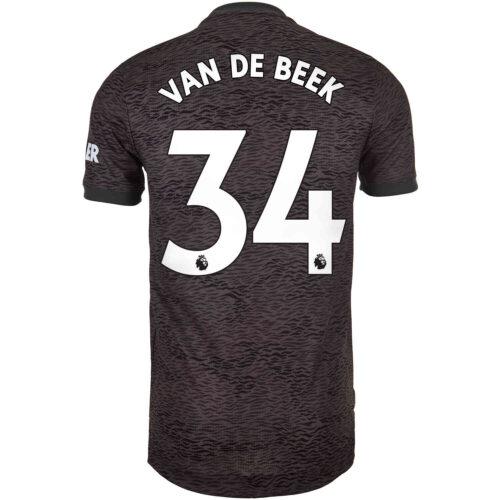 2020/21 adidas Donny van de Beek Manchester United Away Authentic Jersey
