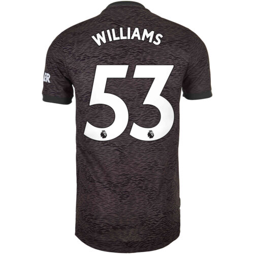 2020/21 adidas Brandon Williams Manchester United Away Authentic Jersey
