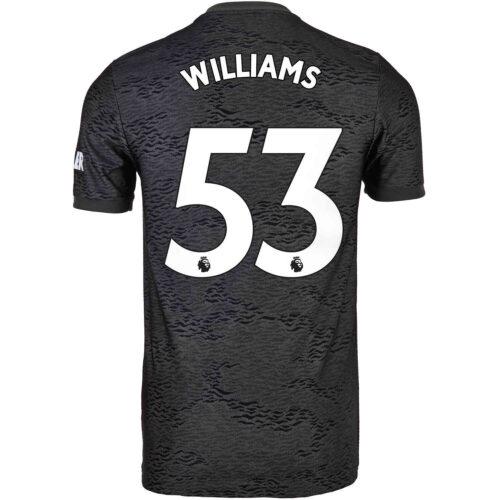 2020/21 adidas Brandon Williams Manchester United Away Jersey