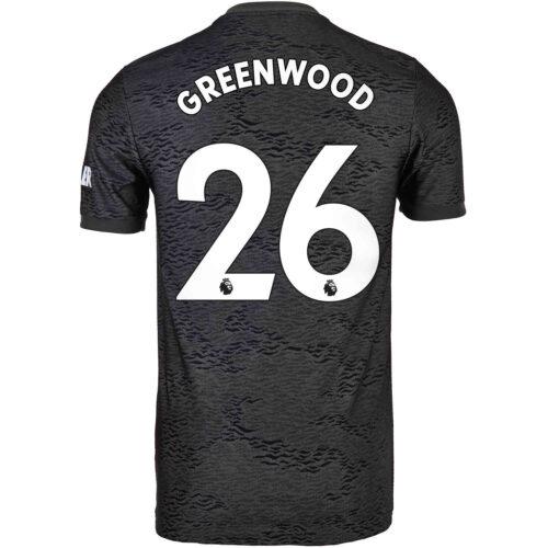 2020/21 Kids adidas Mason Greenwood Manchester United Away Jersey