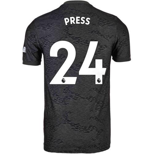 2020/21 Kids adidas Christen Press Manchester United Away Jersey