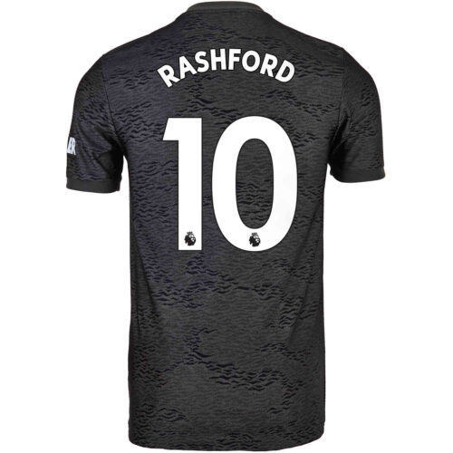 2020/21 Kids adidas Marcus Rashford Manchester United Away Jersey