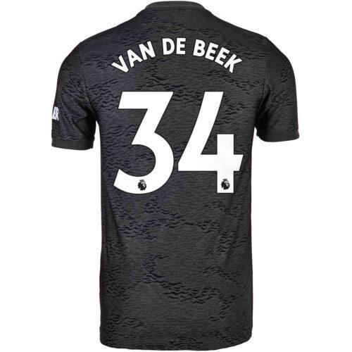2020/21 Kids adidas Donny van de Beek Manchester United Away Jersey
