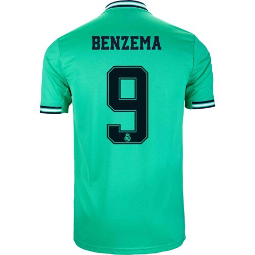 2019/20 adidas Karim Benzema Real Madrid 3rd Jersey