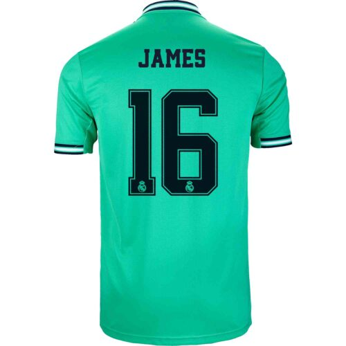 2019/20 adidas James Rodriguez Real Madrid 3rd Jersey