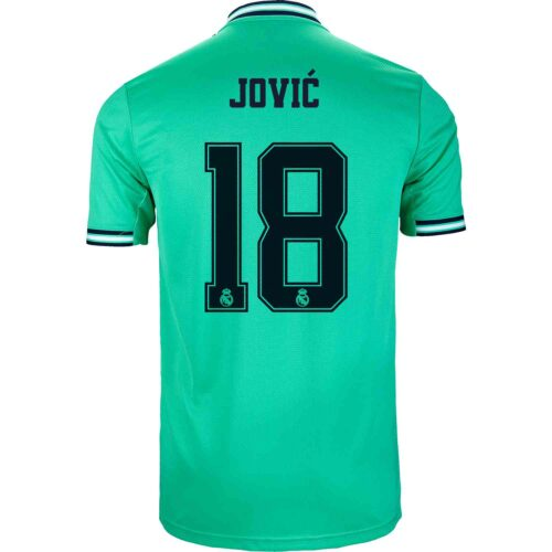 2019/20 adidas Luka Jovic Real Madrid 3rd Jersey