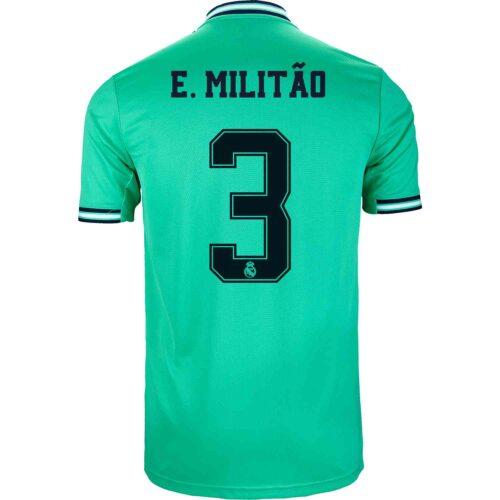 2019/20 adidas Eder Militao Real Madrid 3rd Jersey