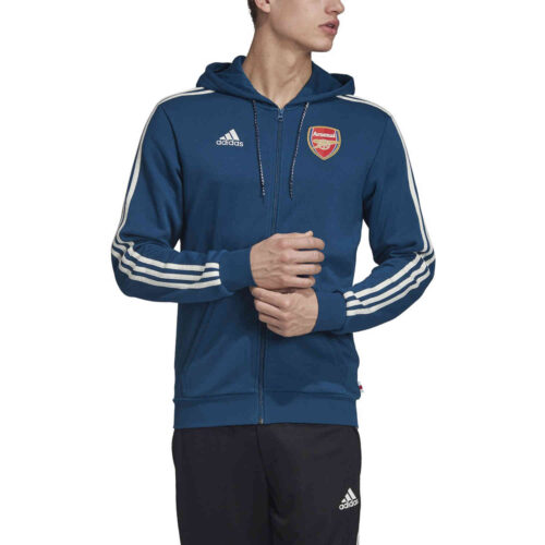 adidas Arsenal Full-zip Hoodie – Legend Marine