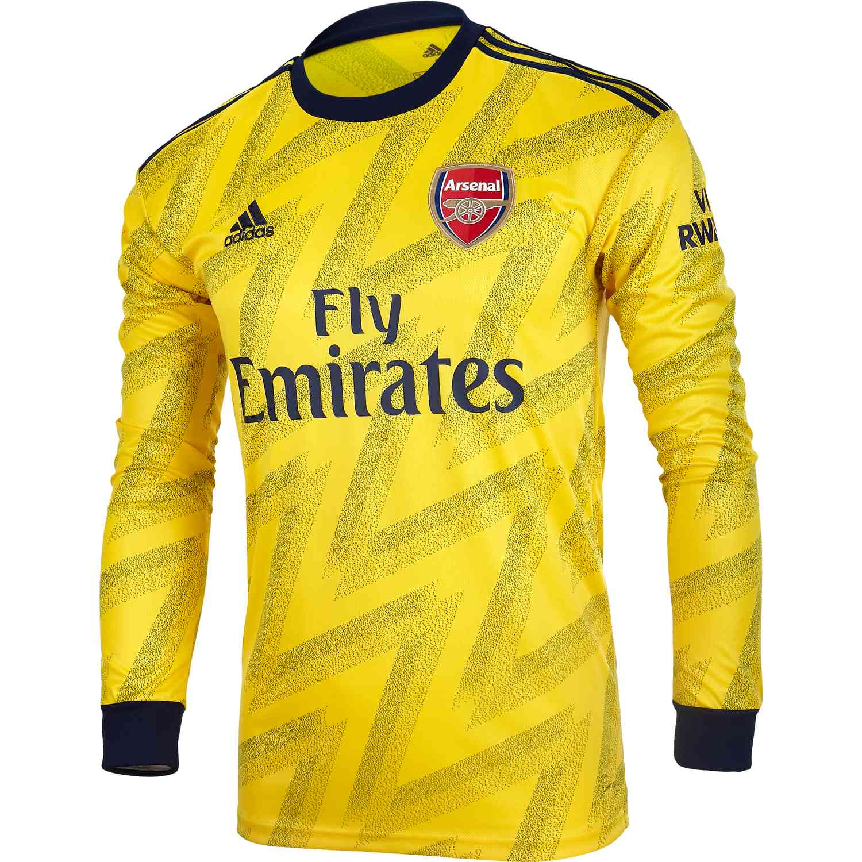 san francisco 7c4a7 fdf0b adidas Arsenal Away L/S Stadium Jersey – 2019/20
