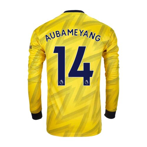 2019/20 adidas Pierre-Emerick Aubameyang Arsenal Away L/S Stadium Jersey