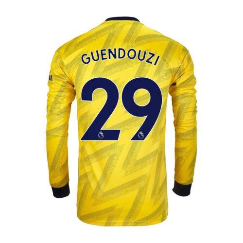 2019/20 adidas Matteo Guendouzi Arsenal Away L/S Stadium Jersey