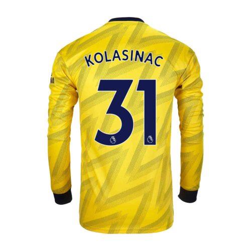 2019/20 adidas Sead Kolasinac Arsenal Away L/S Stadium Jersey