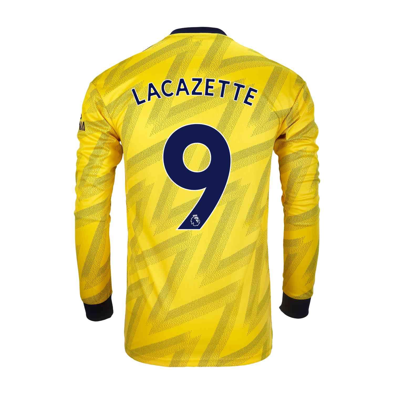 ARSENAL LACAZETTE AWAY jersey SIZE S L or XL M