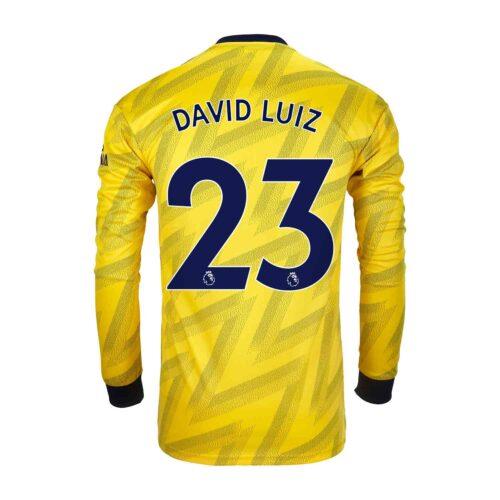 2019/20 adidas David Luiz Arsenal Away L/S Stadium Jersey