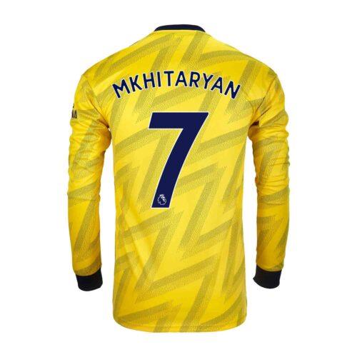 2019/20 adidas Henrikh Mkhitaryan Arsenal Away L/S Stadium Jersey