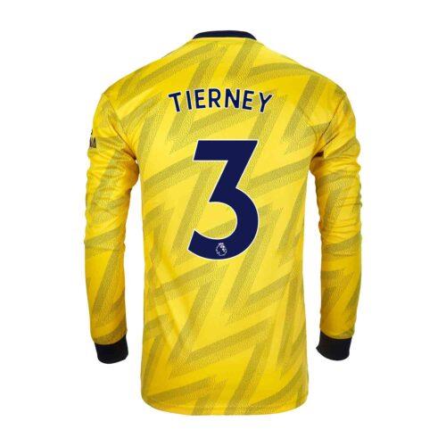 2019/20 adidas Kieran Tierney Arsenal Away L/S Stadium Jersey