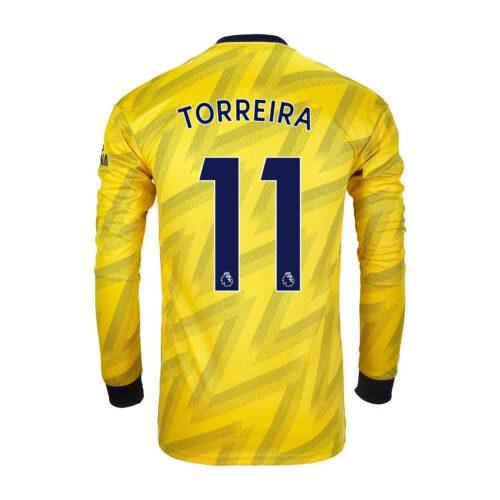 2019/20 adidas Lucas Torreira Arsenal Away L/S Stadium Jersey
