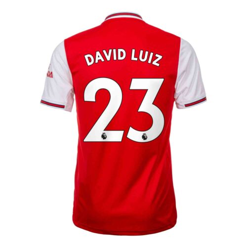 2019/20 adidas David Luiz Arsenal Home Jersey