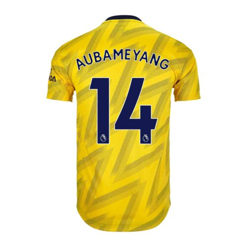 2019/20 adidas Pierre-Emerick Aubameyang Arsenal Away Authentic Jersey
