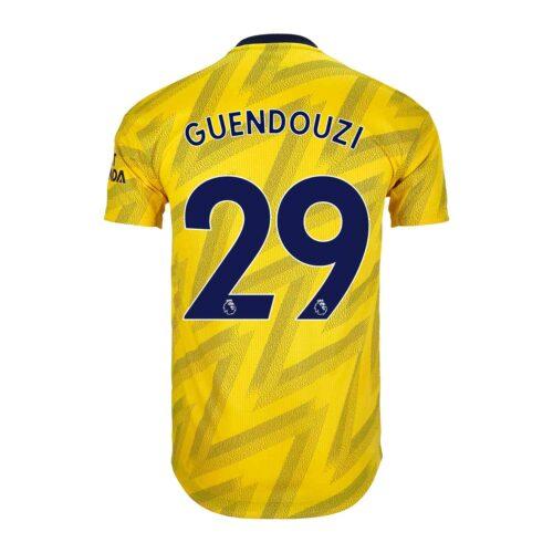 2019/20 adidas Matteo Guendouzi Arsenal Away Authentic Jersey