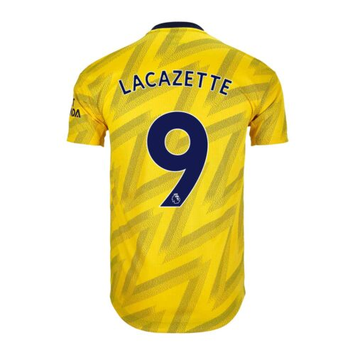 2019/20 adidas Alexandre Lacazette Arsenal Away Authentic Jersey