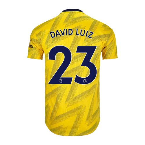 2019/20 adidas David Luiz Arsenal Away Authentic Jersey