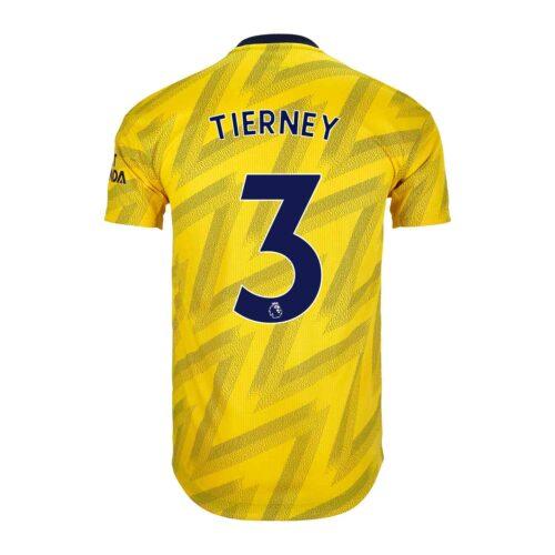 2019/20 adidas Kieran Tierney Arsenal Away Authentic Jersey
