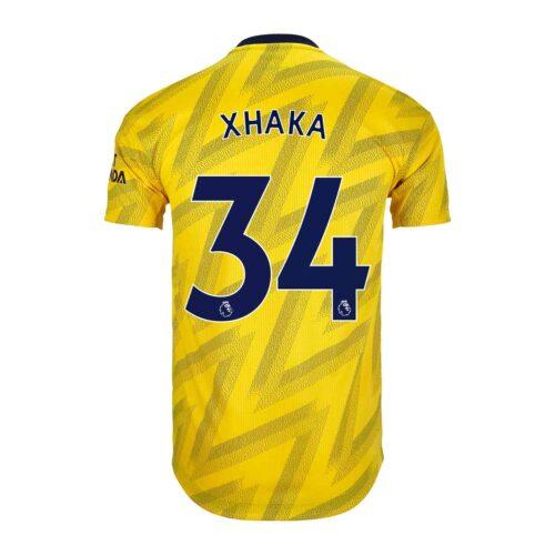 2019/20 adidas Granit Xhaka Arsenal Away Authentic Jersey