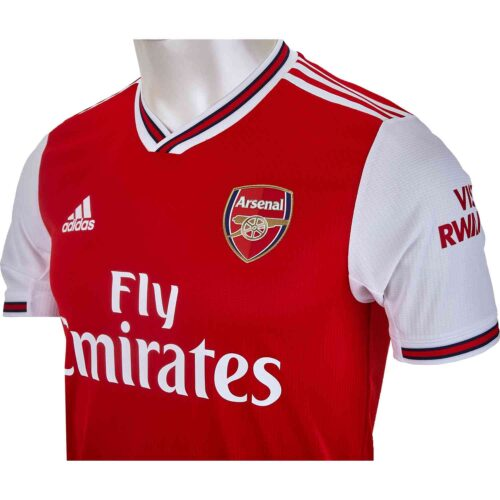 2019/20 adidas David Luiz Arsenal Home Authentic Jersey