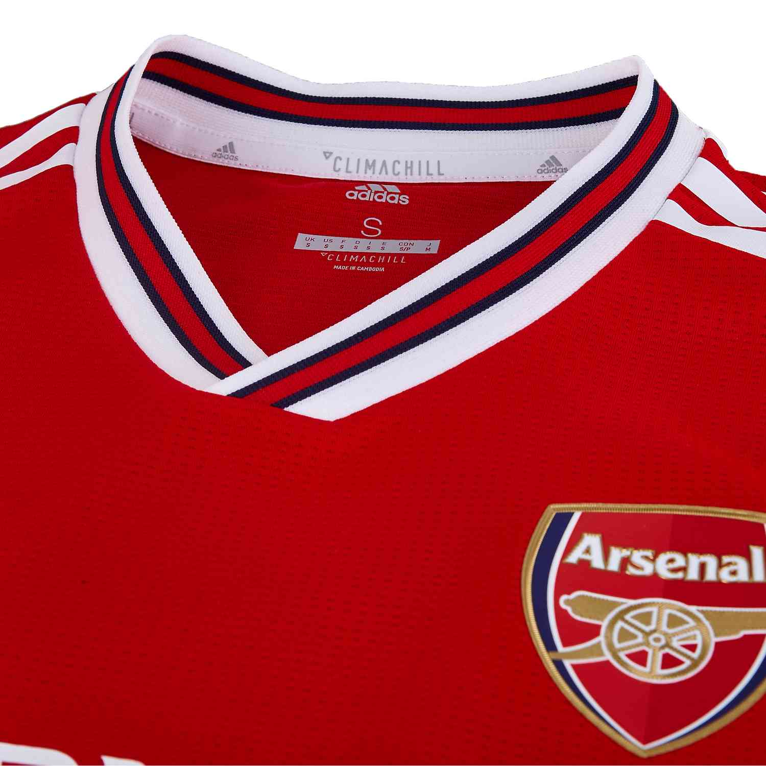 low priced be2a0 99467 adidas Arsenal Home Authentic Jersey - 2019/20 - SoccerPro