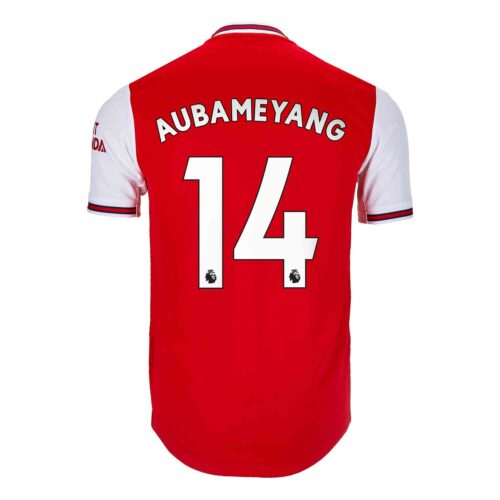 2019/20 adidas Pierre-Emerick Aubameyang Arsenal Home Authentic Jersey