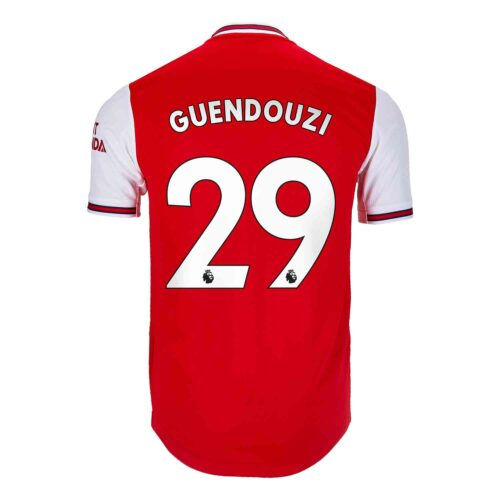 2019/20 adidas Matteo Guendouzi Arsenal Home Authentic Jersey
