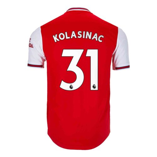 2019/20 adidas Sead Kolasinac Arsenal Home Authentic Jersey