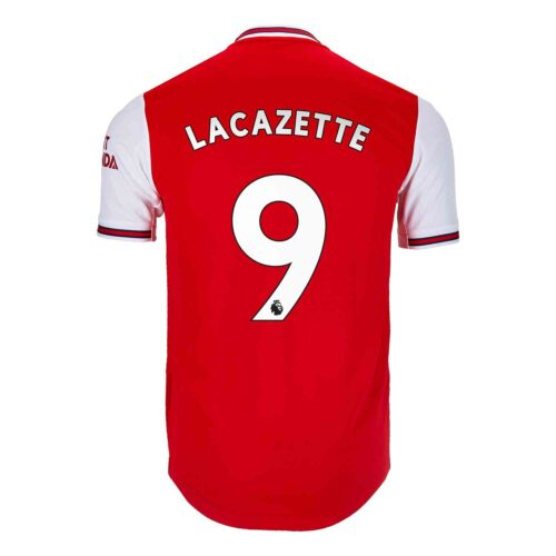 2019/20 adidas Alexandre Lacazette Arsenal Home Authentic Jersey