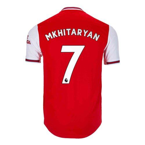 2019/20 adidas Henrikh Mkhitaryan Arsenal Home Authentic Jersey