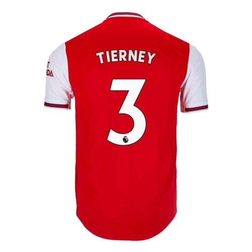 2019/20 adidas Kieran Tierney Arsenal Home Authentic Jersey