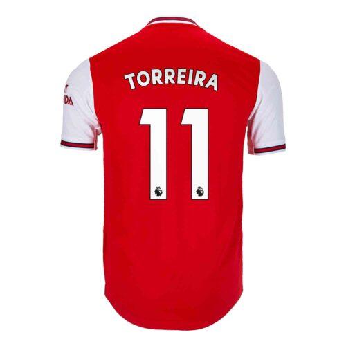 2019/20 adidas Lucas Torreira Arsenal Home Authentic Jersey