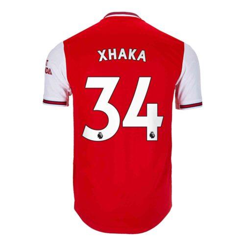 2019/20 adidas Granit Xhaka Arsenal Home Authentic Jersey