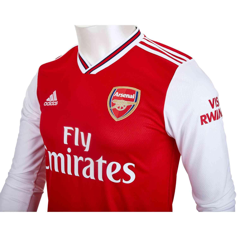 2019/20 adidas Arsenal Home L/S Jersey - SoccerPro
