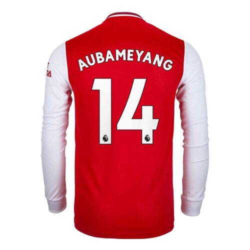 2019/20 adidas Pierre-Emerick Aubameyang Arsenal Home L/S Jersey