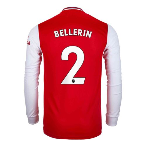 2019/20 adidas Hector Bellerin Arsenal Home L/S Jersey