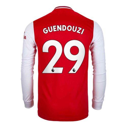 2019/20 adidas Matteo Guendouzi Arsenal Home L/S Jersey