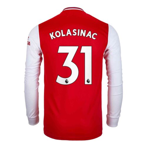 2019/20 adidas Sead Kolasinac Arsenal Home L/S Jersey