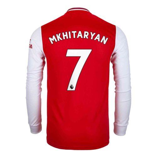 2019/20 adidas Henrikh Mkhitaryan Arsenal Home L/S Jersey