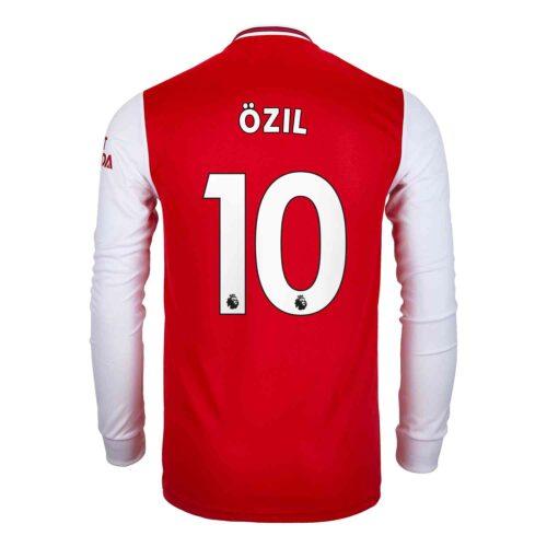 2019/20 adidas Mesut Ozil Arsenal Home L/S Jersey