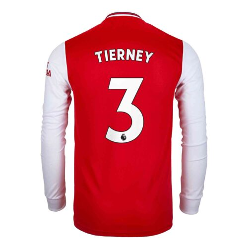 2019/20 adidas Kieran Tierney Arsenal Home L/S Jersey
