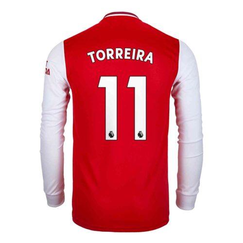 2019/20 adidas Lucas Torreira Arsenal Home L/S Jersey