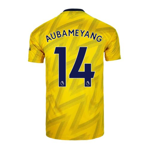 2019/20 Kids adidas Pierre-Emerick Aubameyang Arsenal Away Jersey